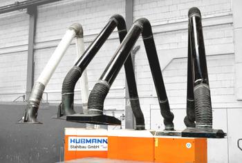 KEMPER Absauganlagen - 4.000 m³/h Volumenstrom, 7 kW Motorleistung