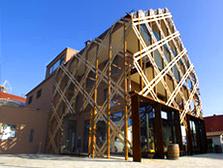Stahlbau und Holzarbeiten für ein Weingut bei Stuttgart, Baden-Württemberg.