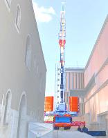 500 Tonnen Großkran auf Hohlkästen